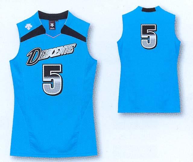デサントノースリーブゲームシャツ/DSS4136W(レディスサイズ)
