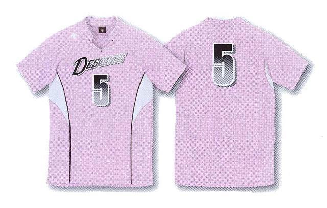 デサント半そでゲームシャツ/DSS4823(男女兼用サイズ)