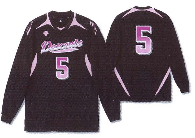 デサント(DESCENTE) バレーボール 長袖ゲームシャツ [DSS4912] ユニセックス