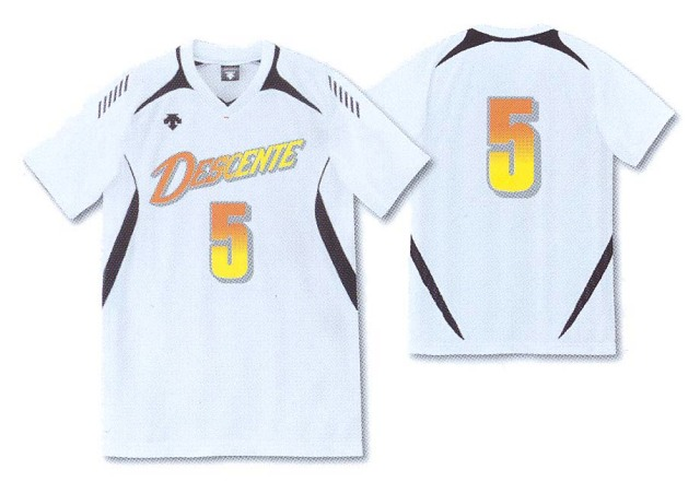 デサント ユニフォーム 半袖ゲームシャツ DSS4922 男女兼用サイズ