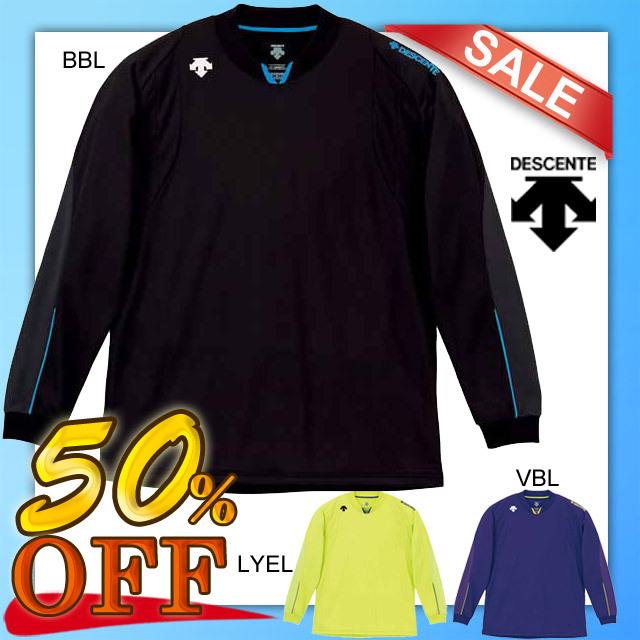 【1枚までメール便OK】デサント(DESCENTE) バレーボール 長袖 セカンダリーシャツ [DVB-5212] 50%OFFセール