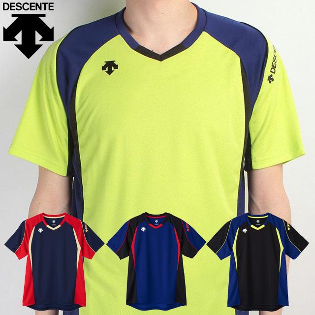 【1枚までメール便OK】デサント(DESCENTE) バレーボール 半袖プラクティスTシャツ(ユニセックス) [DVB-5723] 新作