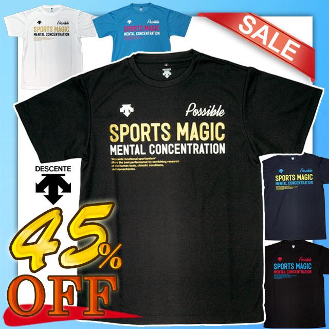 【1枚までメール便OK】デサント(DESCENTE) バレーボール 半袖プラクティスTシャツ [DVB-5663] セール
