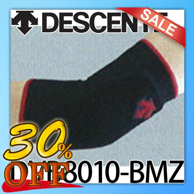 【2個までメール便OK】デサント(DESCENTE) バレーボールエルボーサポーター(ブラック×マゼンタ) [DVB8010-BMZ] 1個入り 肘サポーター【アウトレットセール】