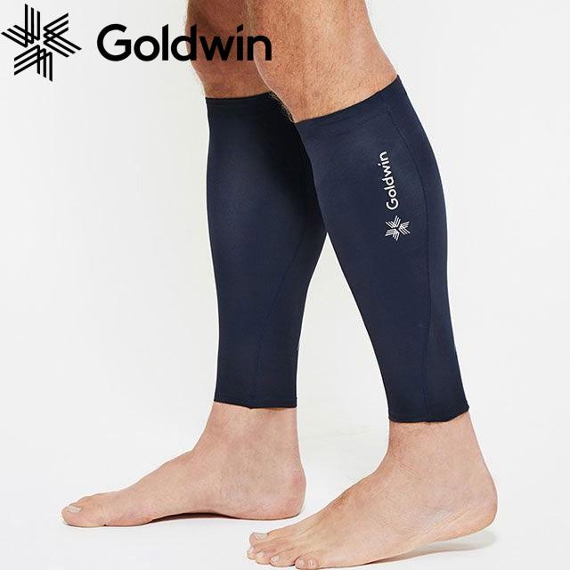 【2組までメール便OK】Goldwin(ゴールドウィン) C3fit(シースリーフィット) UNI インスピレーションカーフスリーブ [GC09380-BK] ブラック ランニング 両足【即日出荷】