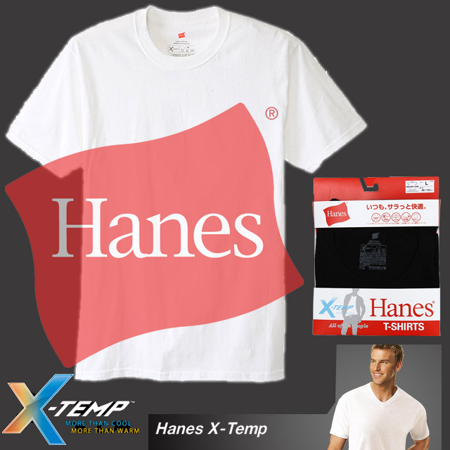【1枚までメール便OK】X-TEMP クルーネックTシャツ 17SS【春夏新作】グローバルバリューライン ヘインズ(Hanes) [HM1EK200]【即納】
