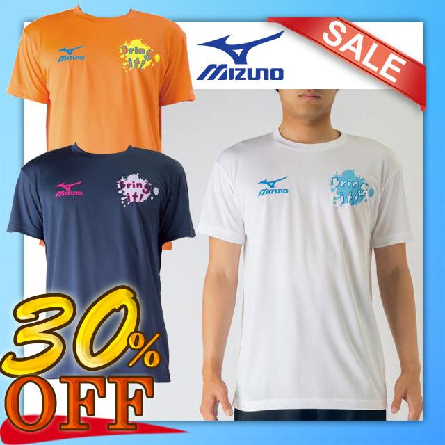 【1枚までメール便OK】ミズノ(mizuno) バレーボール 半袖 プラクティスTシャツ [V2MA7084] セール