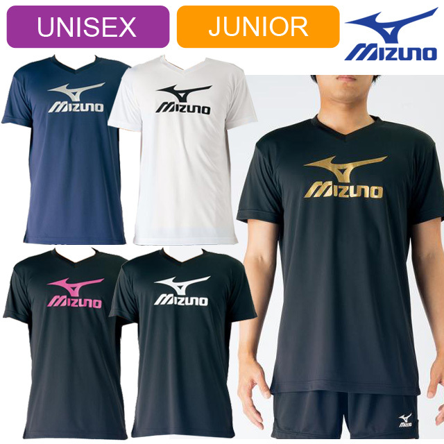 【1枚までメール便OK】ミズノ(mizuno) バレーボール 半袖 プラクティスTシャツ [V2MA7087] 新作