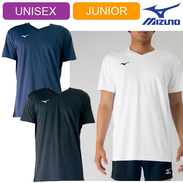 【1枚までメール便OK】ミズノ(mizuno) バレーボール 半袖 プラクティスTシャツ [V2MA7088] 新作