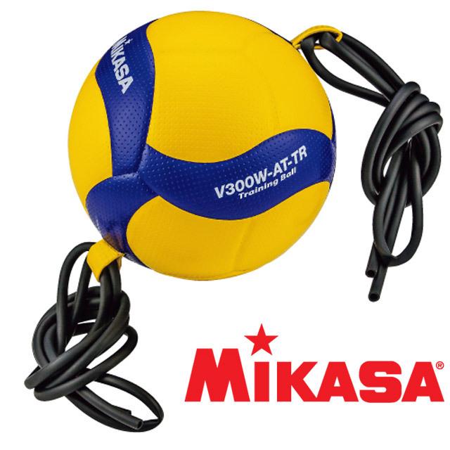 ミカサ(MIKASA) バレーボール トレーニング5号球 ひも固定式 [V300W-AT-TR] 吊るせる トレーニングボール 一人バレー