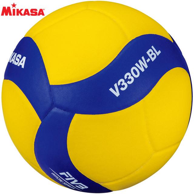 【2020新作】ミカサ(MIKASA) 鈴入りバレーボール5号 [V330W-BL] 投げると音が鳴るボール