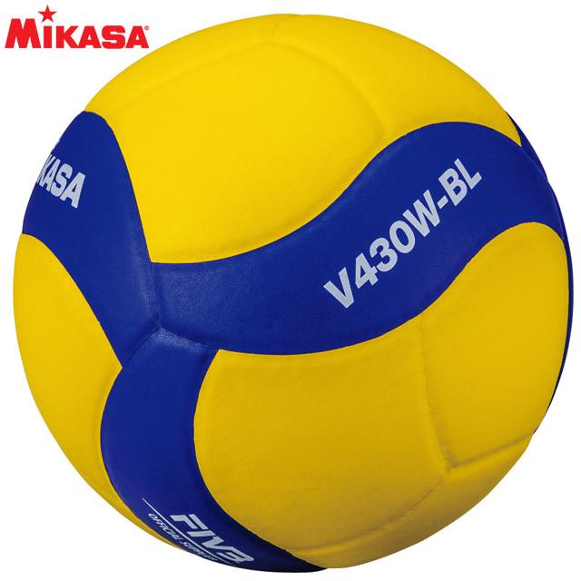 【2020新作】ミカサ(MIKASA) 鈴入りバレーボール4号 [V430W-BL] 投げると音が鳴るボール
