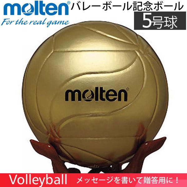 【メッセージを書いて贈答用に】モルテン(molten) バレーボール 記念ボール [V5M9500] 5号球の大きさ