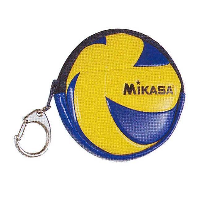 【メール便OK】ミカサ(MIKASA) バレーボール コインパース [VACIP] 小銭入れ コインケース 直径約8.5cm