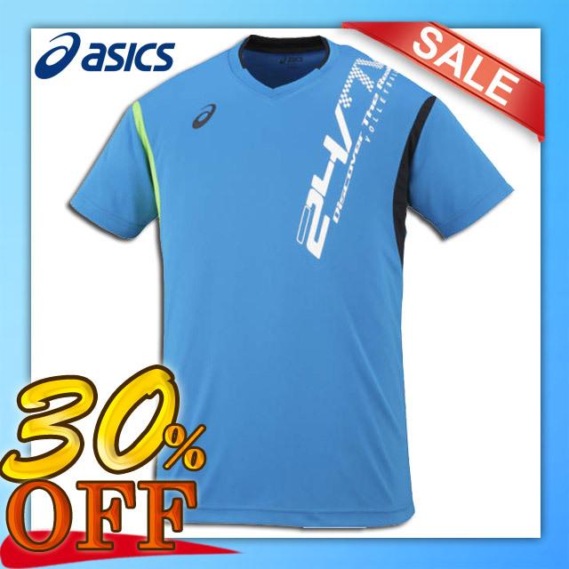 【1枚までメール便OK】アシックス(asics) バレーボール 半袖プラクティスTシャツ プラシャツHS [XW6625] セール