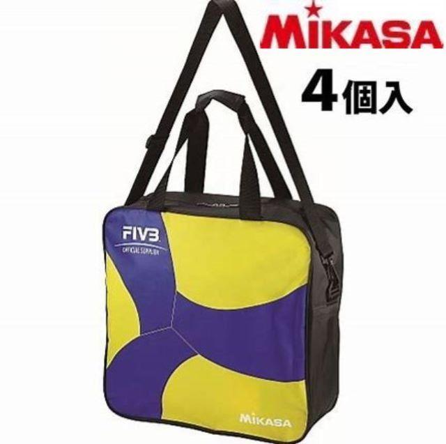 【2020年新作】ミカサ(MIKASA) ボールバッグ バレーボール4個入バッグ 2020NEW [AC-BG240W-YB]