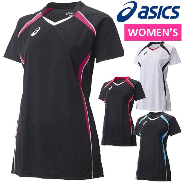 2015NEW!アシックス(asics) バレーボールウエア W'SゲームシャツHS ゲームウェア 半袖シャツ Tシャツ XW1317 ウィメンズ 女性用 レディース