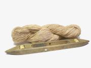 手漉き和紙糸(柿渋染)