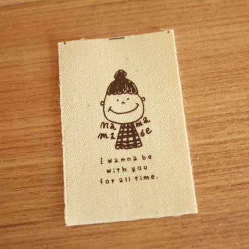 綿平織-holiday母made