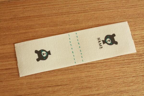 ばら名前タグ(二つ折り)-bousくまさん