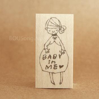 BOUSスタンプ-BABY IN ME