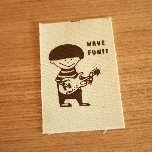 綿平織-holidayギター少年