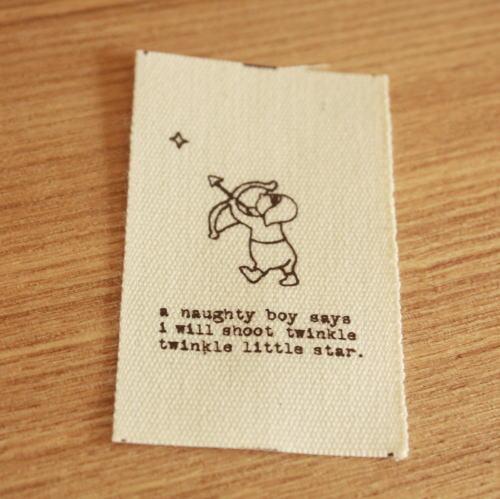 綿平織-Papyrusちいさな星