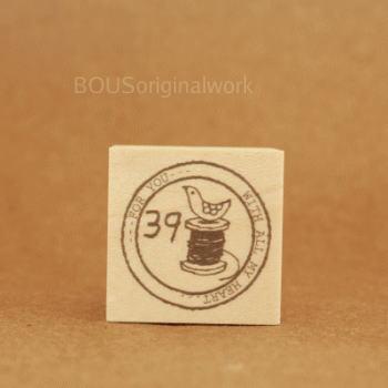 BOUSスタンプ-消印*39foryou+糸まき