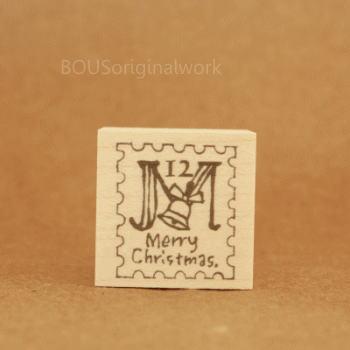 BOUSスタンプ-Xmas*切手ジングルベル