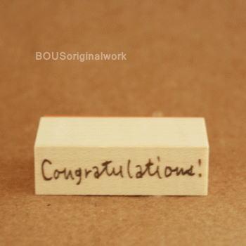 BOUSスタンプ-Congratulation!
