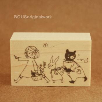 BOUSスタンプ-ピクニック♪