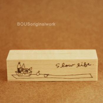 BOUSスタンプ-Slow life*ピクニック♪