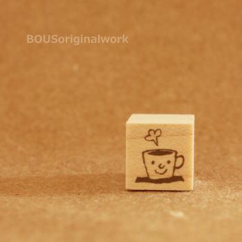 BOUSスタンプ-あったかコーヒー。