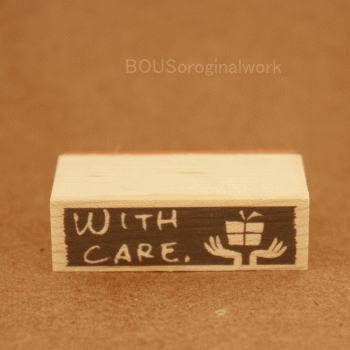 BOUSスタンプ-WITH CARE