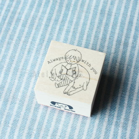 BOUSスタンプ-Always with you犬とボク。