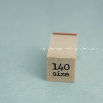 サイズスタンプ-140size
