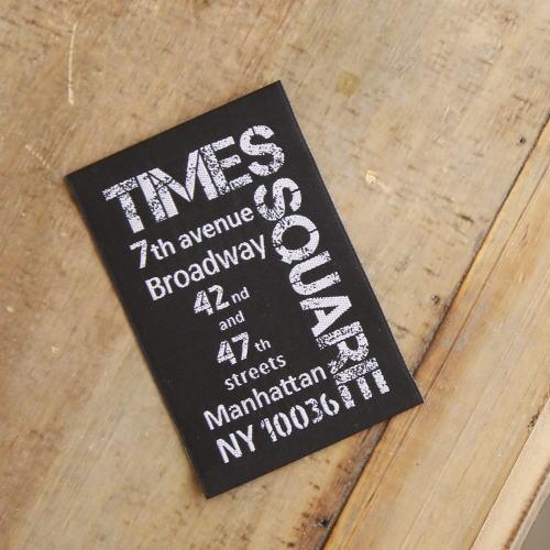 Big刺繍タグ縦-Time's SQUARE