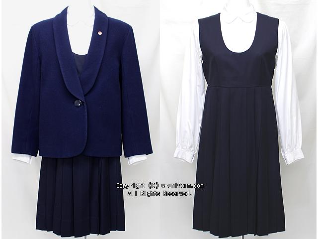 尚絅高校の制服(冬)旧