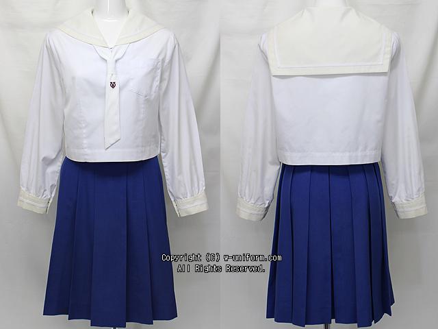 矢板東高校の制服(中間)