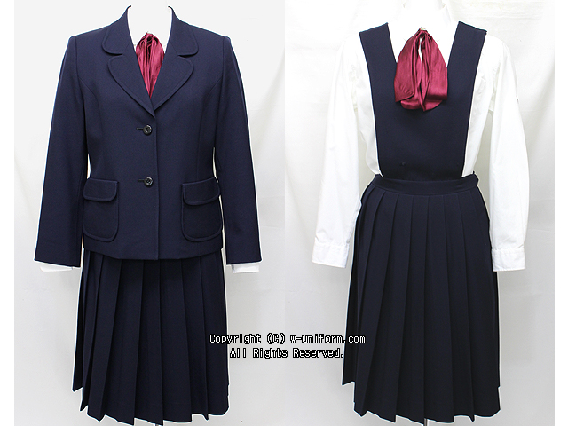 和洋九段女子高校制服(冬)旧