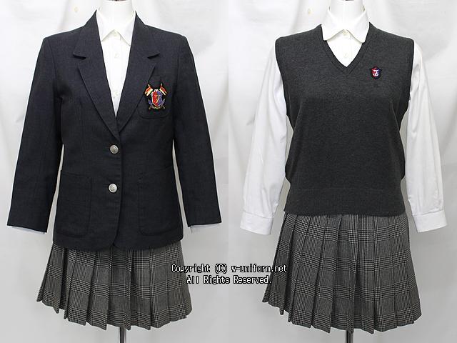 富士見丘中学校の制服(冬)旧