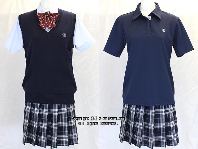 日出高校の制服(夏・盛夏)