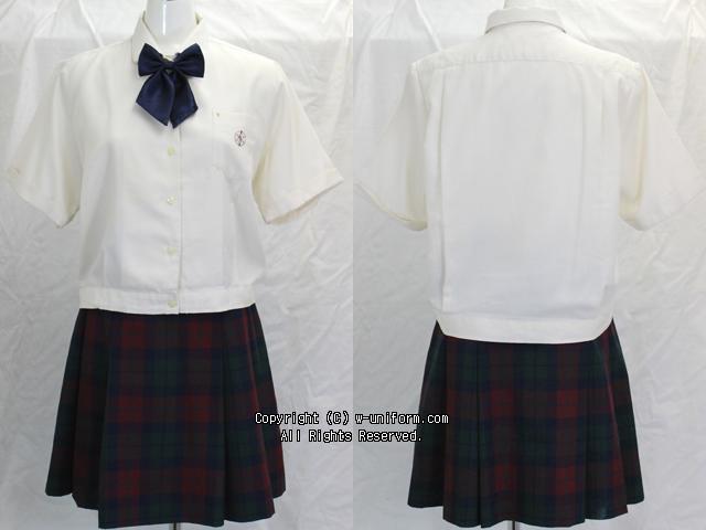 大西学園高校の制服(夏)
