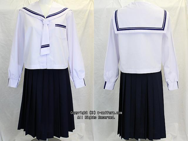 学校名不明セーラー服セット(中間)