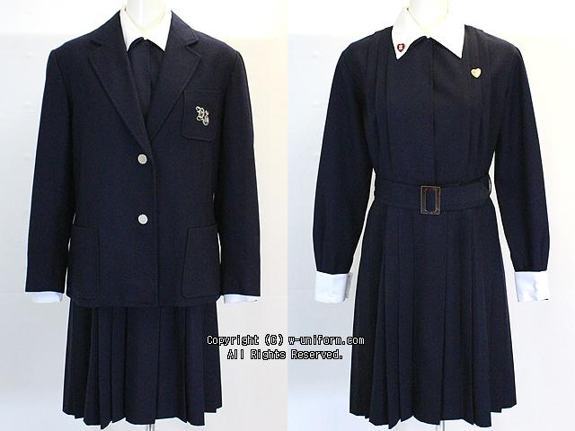 山脇学園の制服(冬)旧