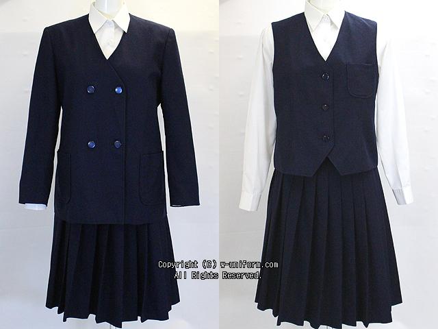 戸田東中学校の制服(冬)