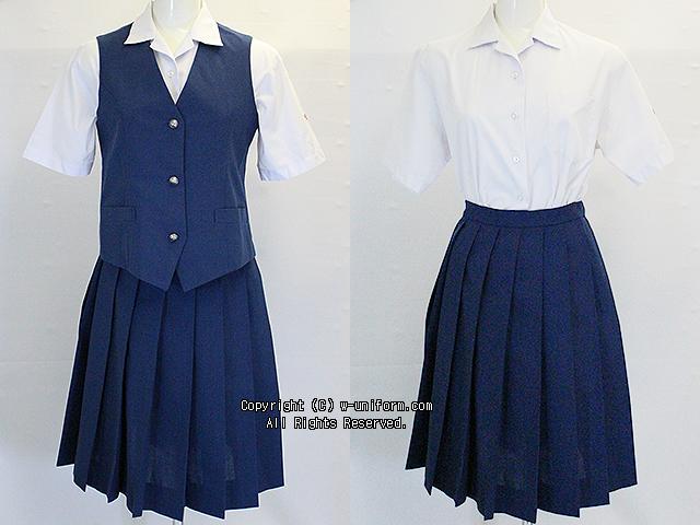 埼玉県立川口高校の制服(夏)