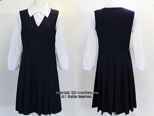 跡見学園中学校の制服(夏)旧