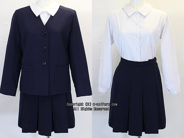 戸田市立美笹中学校の制服(冬)