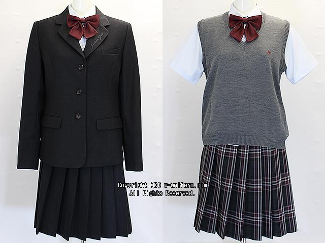 潤徳女子高校の制服(冬・夏)